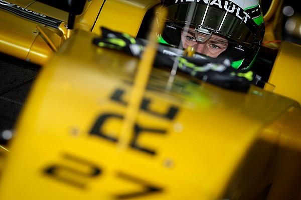 1. Foto: Nico Hülkenberg im Formel-1-Auto von Renault