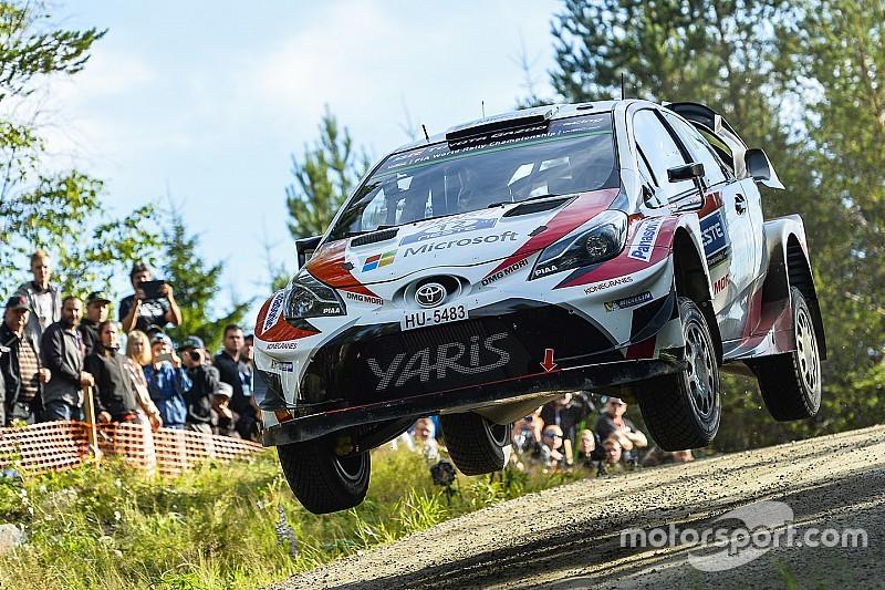 Finlandiya WRC: Lappi, Toyota ile WRC'deki ilk zaferini kazandı