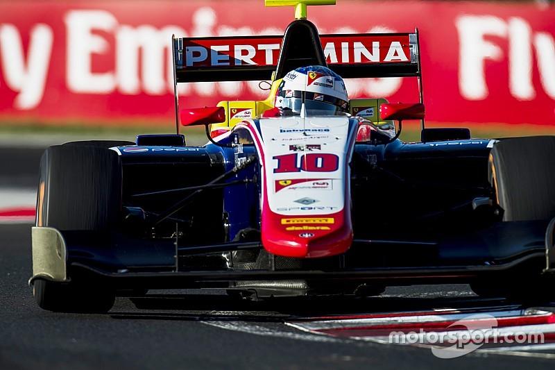 GP3 Hungaroring: Alesi leidt Trident 1-2-3-4 in race 2