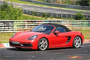 Automotive News Porsche 718 mit Erlkönig-Testrunden auf der Nordschleife