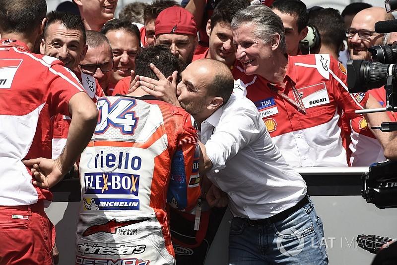 Доменікале: Дові та Ducati, усі пишаються вами!