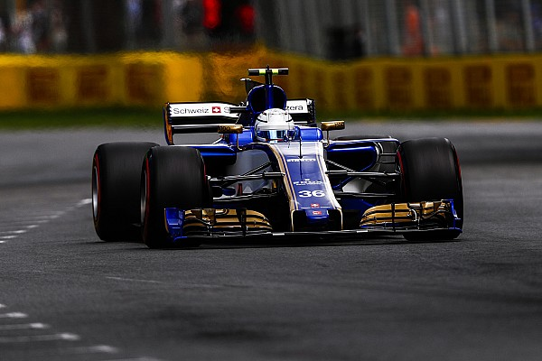 Formel 1 Sauber von Antonio Giovinazzis Formel-1-Debüt