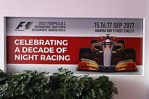 F1 Vista previa Los horarios del GP de Singapur de F1