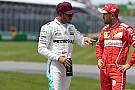 Hamilton espera una fuerte presión de Ferrari para la carrera