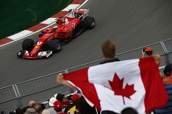 加拿大大奖赛周五:莱科宁当日最快,红牛有难