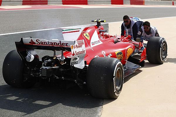 Formel 1 2017 in Bahrain: Training lief