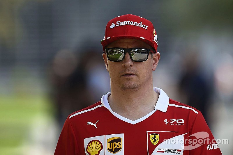 Räikkönen admite su error en la primera parte