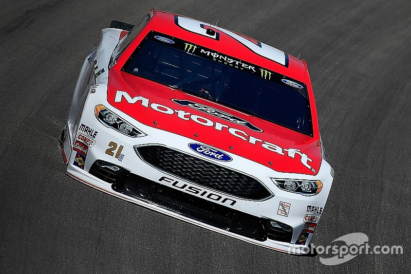Ryan Blaney logra su primera pole en Kansas