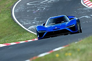 Automotive Breaking news Nio EP9 shatters Lamborghini's Nordschleife lap record