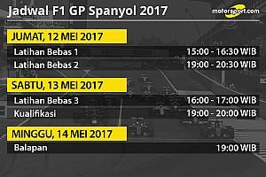 Formula 1 Special feature Jadwal lengkap F1 GP Spanyol 2017
