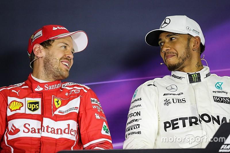 Hamilton déjà fan de sa lutte pour le titre face à Vettel