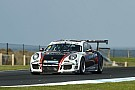 Porsche Holdsworth/Grant win frantic Carrera Cup Pro-Am race