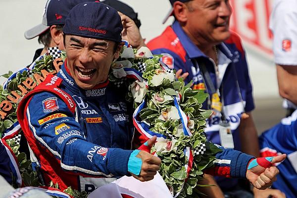 IndyCar 速報ニュース 【インディ500】アンドレッティ「日本にタクの優勝を伝えられ嬉しい」