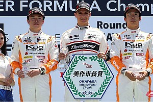 JAPANESE F3 Reporte de la carrera Tercera victoria de Alex Palou en la F3 Japonesa