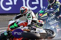 Fotos de la accidentada carrera de MotoE en Le Mans