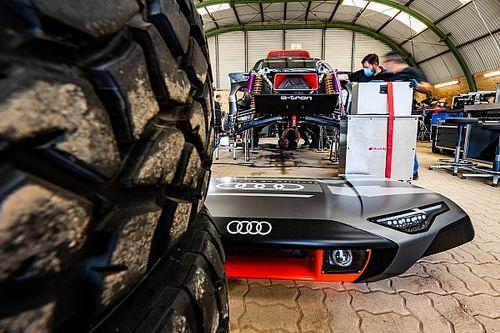Cómo funcionará el Audi RS Q e-tron del Dakar