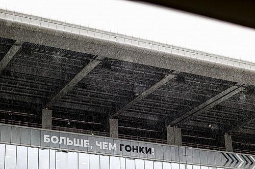 Субботнюю тренировку Ф1 в Сочи отменили из-за дождя