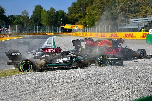 """Hill : L'accrochage de Monza """"démontre un manque de maîtrise de soi"""""""
