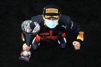 F2初優勝の角田裕毅「僕にとっては大きな一歩」 課題は予選結果?