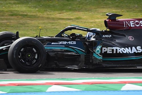 """Bottas completa otro día de test con los Pirelli de 18"""" en Imola"""