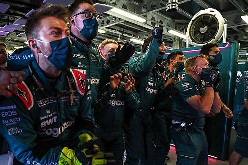 """Vettel """"kiszélesítette"""" az Aston Martin figyelmét"""