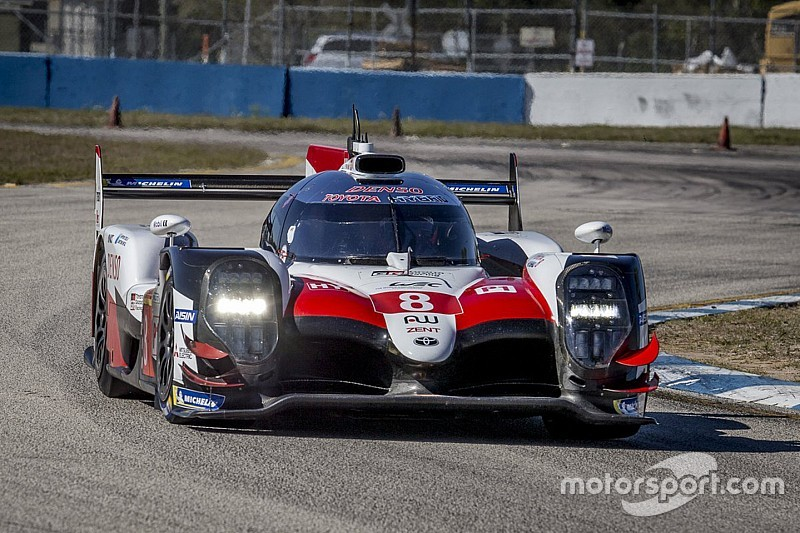 Toyota a bouclé 4000 km d'essais à Sebring