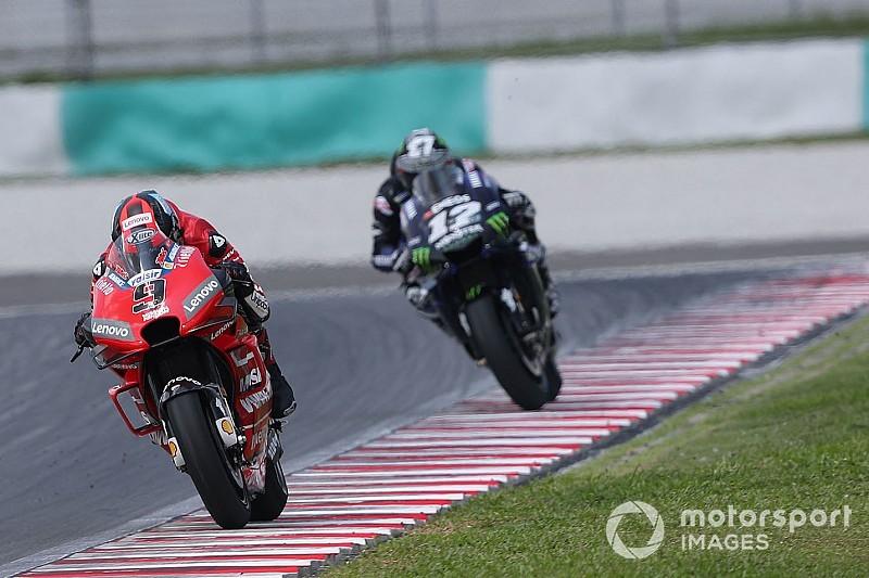 Ducati rapide comme un chasseur, Rins régulier comme un avion de ligne