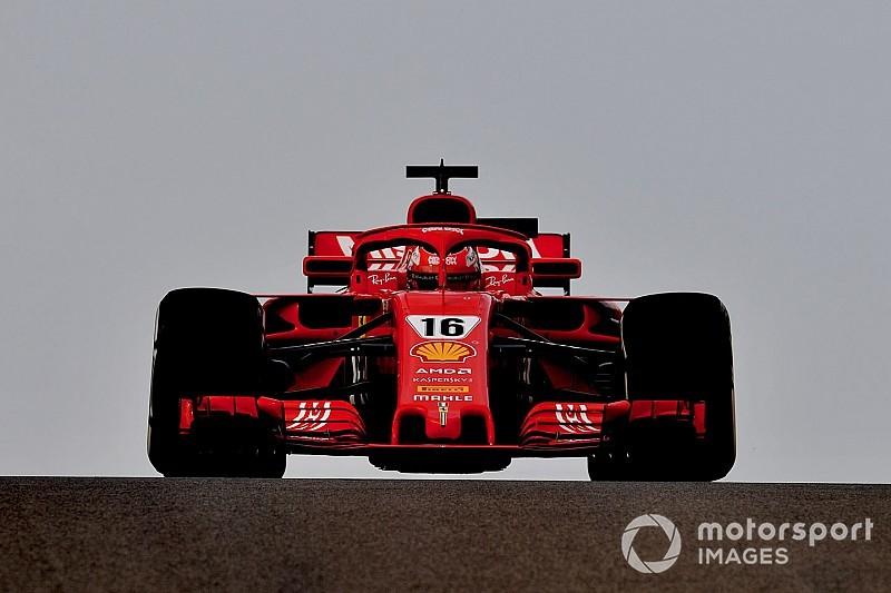 Leclerc snelste tijdens tweede ochtend van bandentest Abu Dhabi