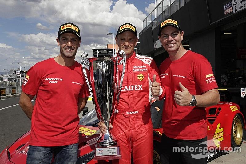 Pole para Ferrari en Bathurst gracias a un gran Vilander y 5º puesto de Soucek