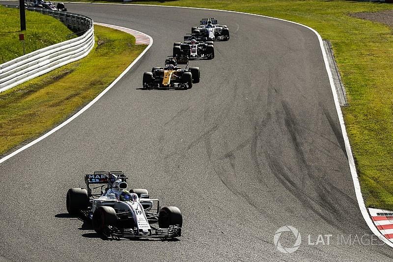 La columna de Massa: Renault se ha convertido en la gran amenaza por el quinto puesto