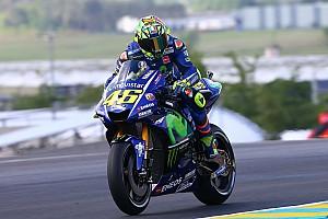 MotoGP Reactions Trek basah saat FP2, Rossi: Saya cukup kompetitif
