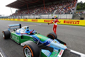 Формула 1 Комментарий Мик Шумахер проехал в Спа на машине отца