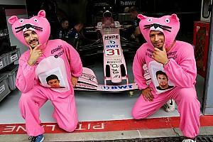 Формула 1 Топ список Галерея: нестримний сезон рожевих пантер Force India у Формулі 1