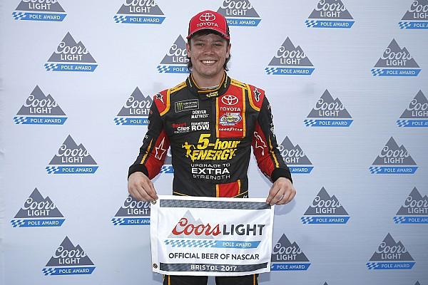 NASCAR Cup Il rookie Erik Jones centra la prima pole a Bristol