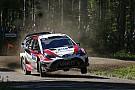WRC Lappi, son etaptaki hatasıyla galibiyeti kaybetmekten korkmuş