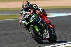 World Superbike Qualifying report WorldSBK Inggris: Pecahkan rekor pole, Sykes start terdepan