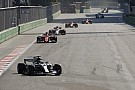 Chaotic Azerbaijan GP red-flagged due to debris on track