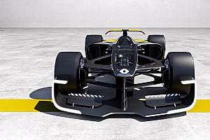 Formel 1 News Formel 1 2027: Renault präsentiert spektakuläre F1-Designstudie