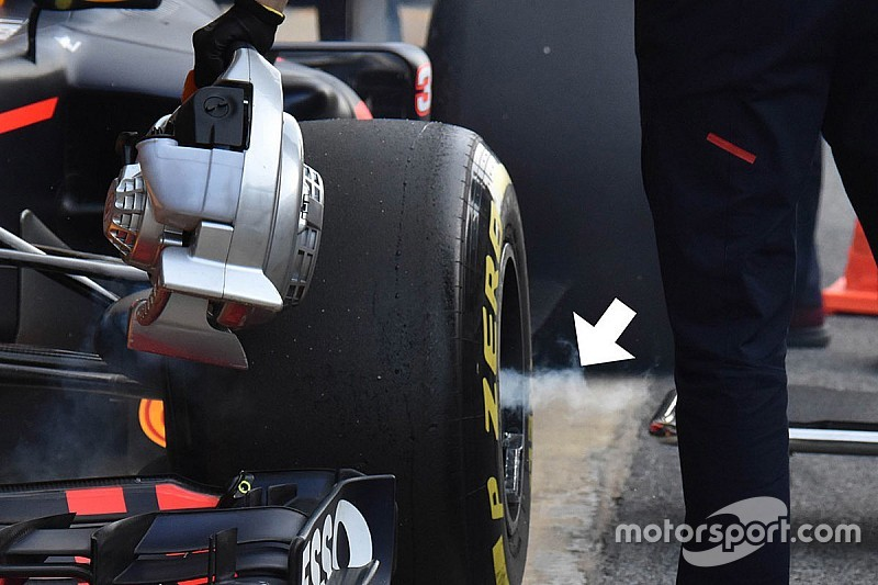 Teknis Formula 1: Aksi hembusan di gandar