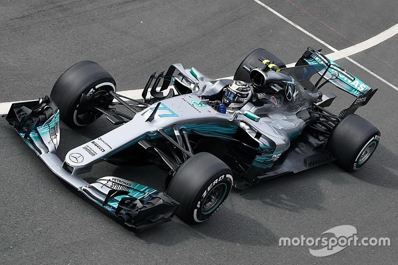 【F1イギリスGP】FP2速報:好調ボッタスが連続首位。ライコネンが3番手