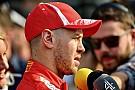 "Vettel ""aprecia"" pedido de desculpas imediato de Verstappen"