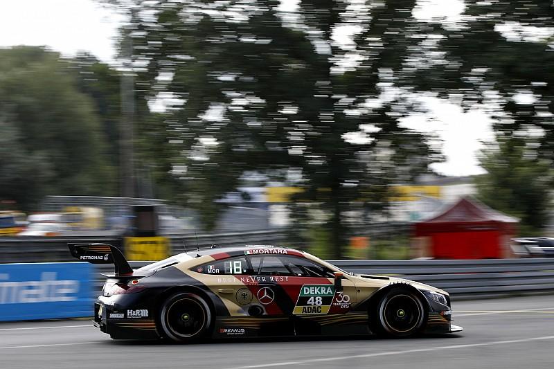 Мортара выиграл субботнюю гонку DTM на «Норисринге» с преимуществом в 0,6 секунды