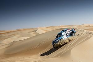 كروس كاونتري أخبار عاجلة رالي أبوظبي الصحراوي: انقلاب سيارة الدوسري في المرحلة الثانية