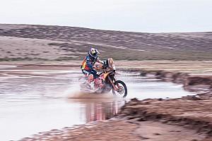 Dakar Actualités La météo perturbe de nouveau l'itinéraire des motos et des quads
