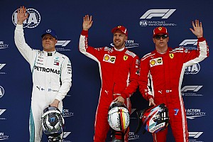 Formula 1 Hasil Starting grid GP Tiongkok 2018