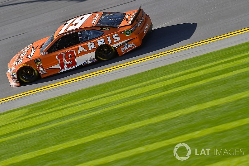 Daytona 500: Daniel Suarez leads Toyota trio in first Friday practice