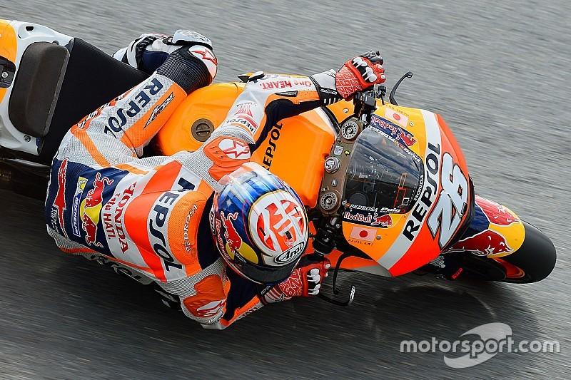 Педроса стал быстрейшим на разминке Гран При Германии, Маркес упал