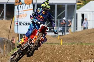 Mondiale Cross MxGP Gara Antonio Cairoli trova la terza vittoria stagionale in Turgovia
