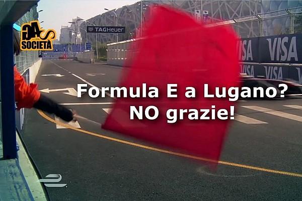 Formula E Video, l'associazione GAS contro la F.E a Lugano
