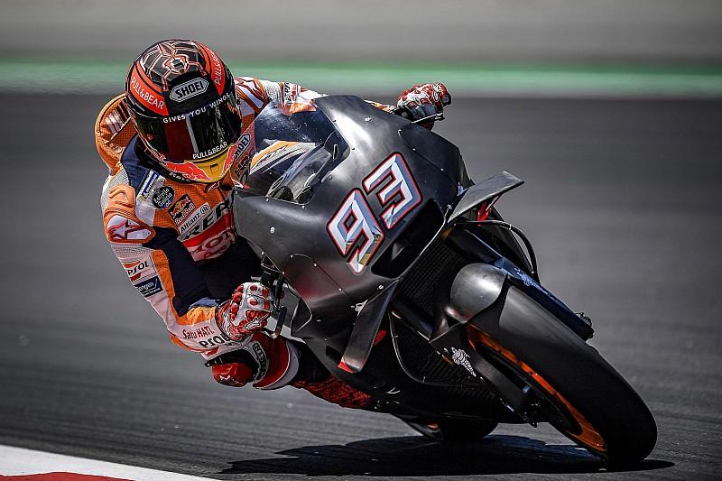 Tes MotoGP Catalunya: Marquez ungguli Iannone
